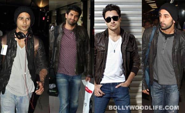 Ranbir Kapoor, Imran Khan, Shahid Kapoor, Aditya Roy Kapur: Who looks sexiest in a leather jacket?