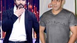 Ram Charan Teja and Salman Khan