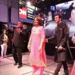 Ranbir Kapoor, Rishi Kapoor, Neetu Singh and Pallavi Sharda promote Besharam at Times Square: View pics!