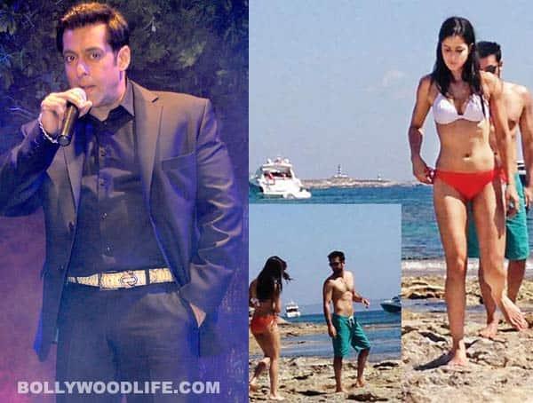 Salman Khan defends Katrina Kaif-Ranbir Kapoor's bikini pictures!