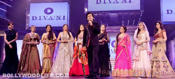 Yash Chopra 81st birth anniversary: Shahrukh Khan takes the ramp with Yash Raj heroines!