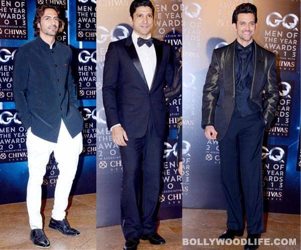 See pics: GQ Men of The Year Awards – Farhan Akhtar, Hrithik Roshan, Arjun Rampal…whodazzled?