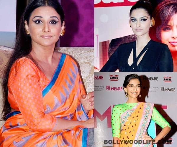 Is Vidya Balan aping Sonam Kapoor?