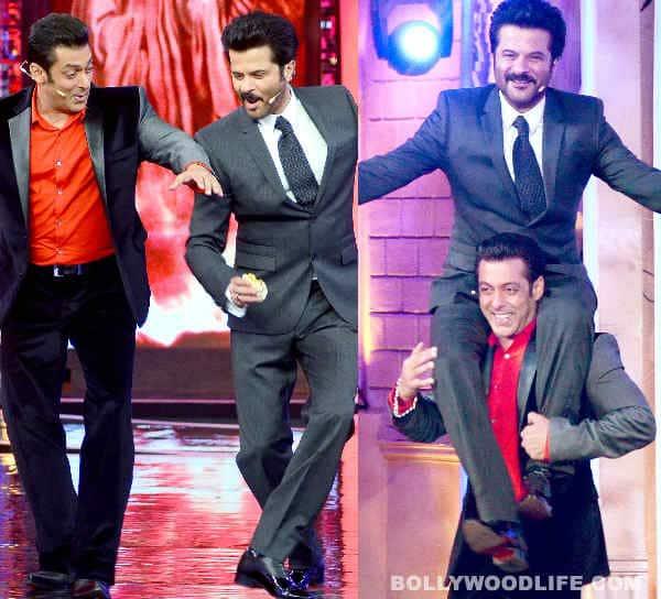 Bigg Boss 7: Salman Khan Anil Kapoor together - Entertainment! Entertainment! Entertainment!