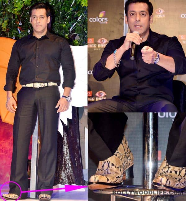 Why did Salman Khan wear THAT at the Bigg Boss 7 press conference?