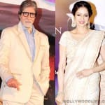 Amitabh Bachchan and Sridevi to share screen space?