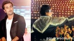 Ranbir Kapoor apes Amitabh Bachchan