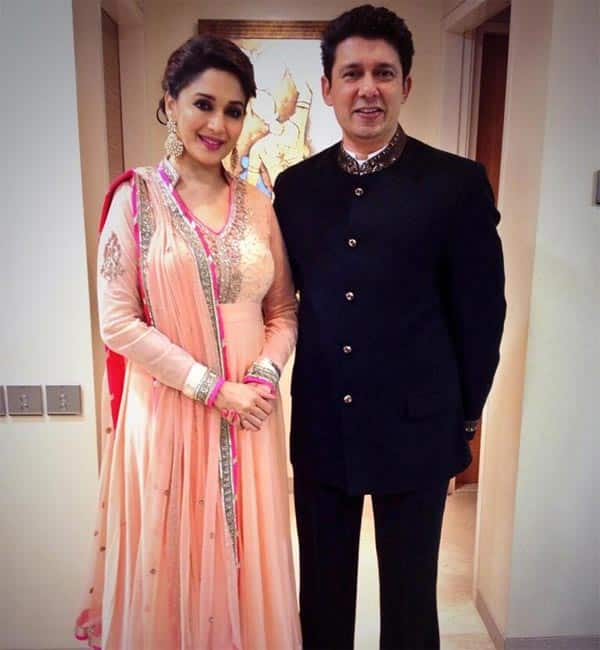 Madhuri Dixit-Shriram Nene celebrate their 14th wedding anniversary!