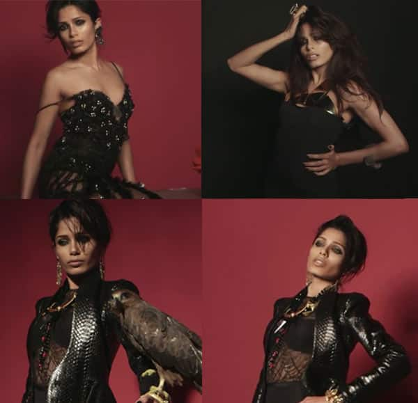 Freida Pinto casts a black magic spell: Watch video!