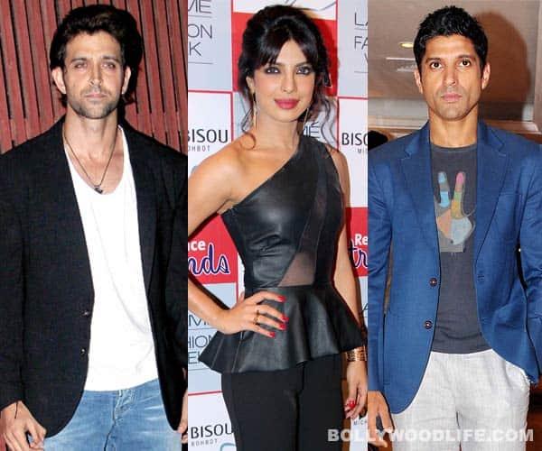 Who will romance Priyanka Chopra – Hrithik Roshan or FarhanAkhtar?