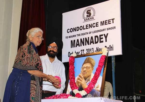 Kamini Kaushal pays tribute to Manna Dey