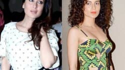 How did Kangna Ranaut replace Kareena Kapoor?