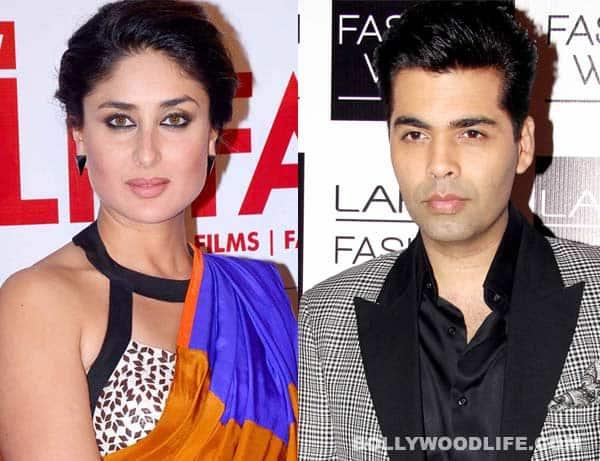 Did Kareena Kapoor and Karan Johar have a fallout?
