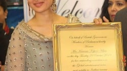 Kareena Kapoor receives an international honour