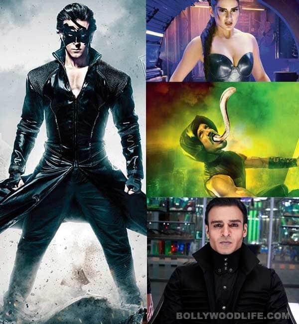 Krrish Kaal Kaya Antman Meet The Krrish 3 Characters