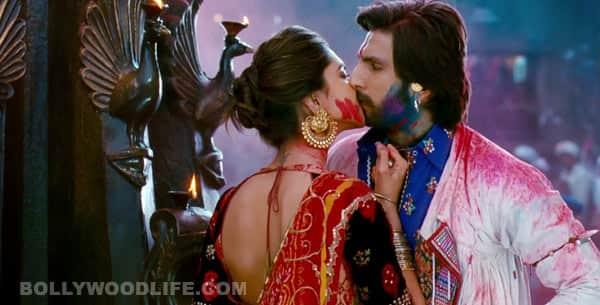Ram-Leela song Lahu munh lag gaya: Deepika Padukone kisses Ranveer Singh!