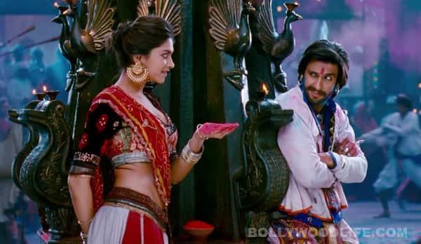 Ram-Leela song Lahu munh lag gaya making: Deepika Padukone and Ranveer Singh show their colourful side!