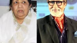 Why did Lata Mangeshkar apologise to Amitabh Bachchan?
