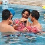 The Bachelorette India: Mallika Sherawat gets naughty in the pool with Karan Sagoo and Vijay Singh!