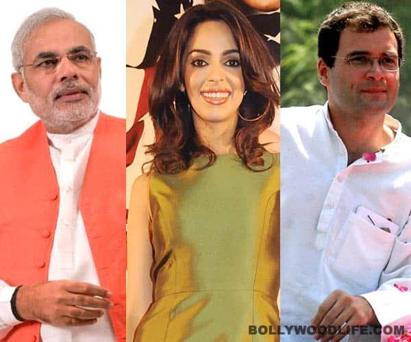 Does Mallika Sherawat prefer Narendra Modi over Rahul Gandhi?