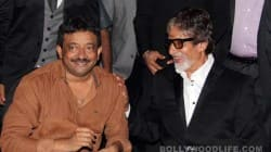 Amitabh Bachchan and Ram Gopal Varma at Satya 2 party