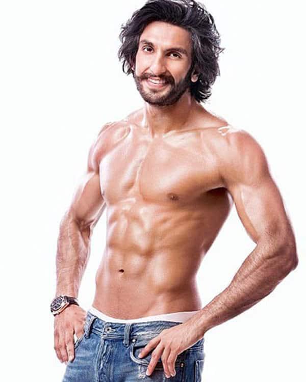 Ranveer Singh, Ranbir Kapoor, Hrithik Roshan: Shirtless hunks of ...