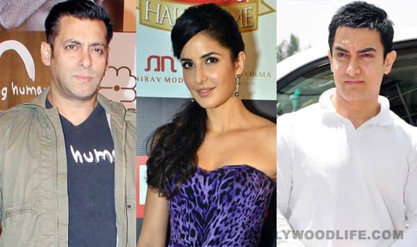 Will Salman Khan and Katrina Kaif attend Aamir Khan's Diwali party together?