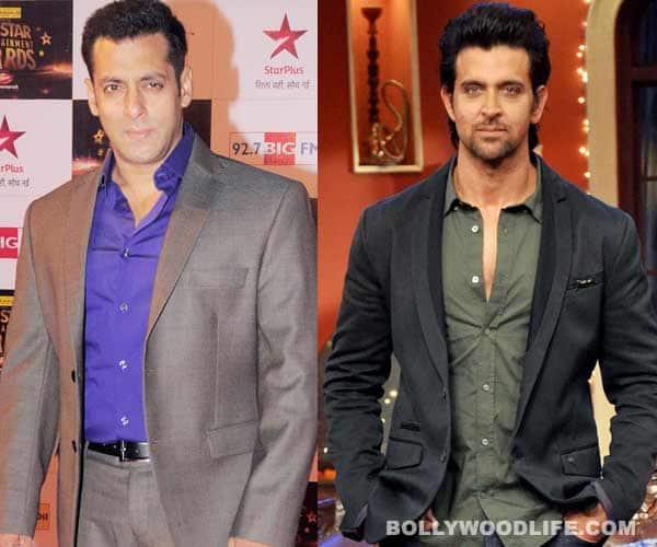 Are Salman Khan and Hrithik Roshan friends again?
