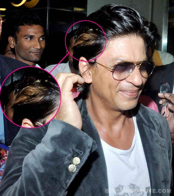 Does Shahrukh Khan's blond hair suit him?