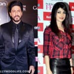 What were Shahrukh Khan and Priyanka Chopra doing in London?
