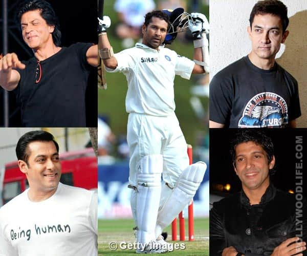 Shahrukh Khan, Salman Khan, Aamir Khan and Farhan Akhtar: Why is Bollywood so fond of Sachin Tendulkar?