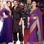 Navratri special: Do Sonakshi Sinha and Vidya Balan look pretty in purple?