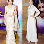 Sridevi and Anushka Sharma: Alluring and graceful in white!