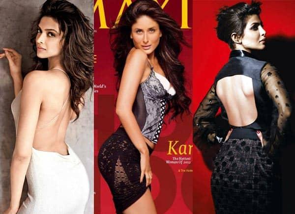 Deepika Padukone, Kareena Kapoor Khan or Priyanka Chopra – Who has the sexiest behind?