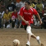 Will Salman Khan support a football team?
