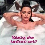 Sherlyn Chopra slips into bathtub to beat the October heat!
