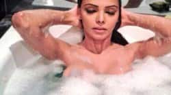 Sherlyn Chopra beats October heat!