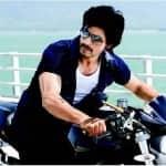 Is Shahrukh Khan not macho enough to ride a bike?