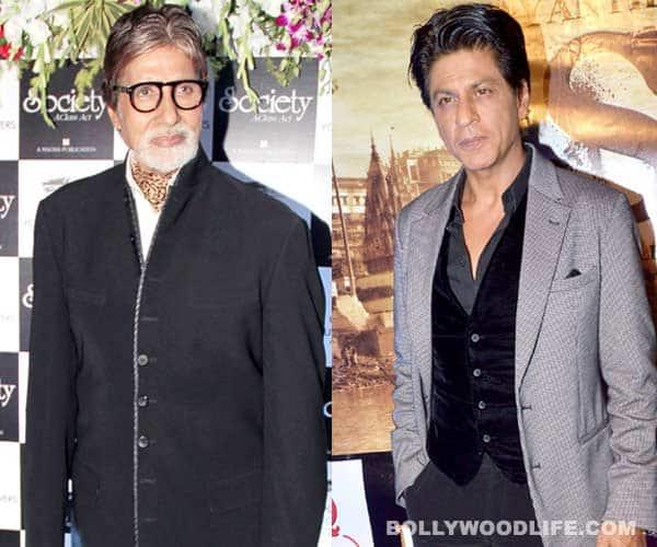 Is Amitabh Bachchan more popular than Shahrukh Khan?