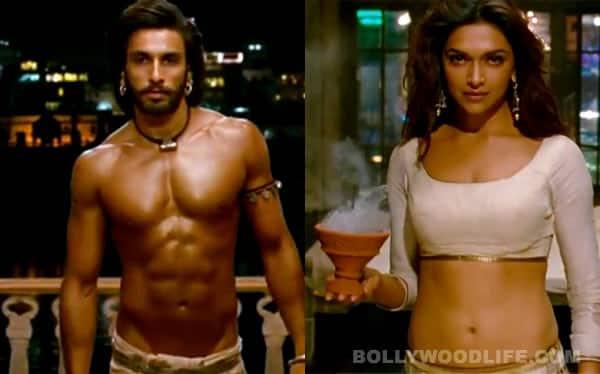 Ram-Leela song Ang laga de: Ranveer Singh's six pack abs overshadow Deepika Padukone's curves!