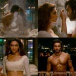 How sexy do Ranveer Singh and Deepika Padukone look while making love?-Watch video!