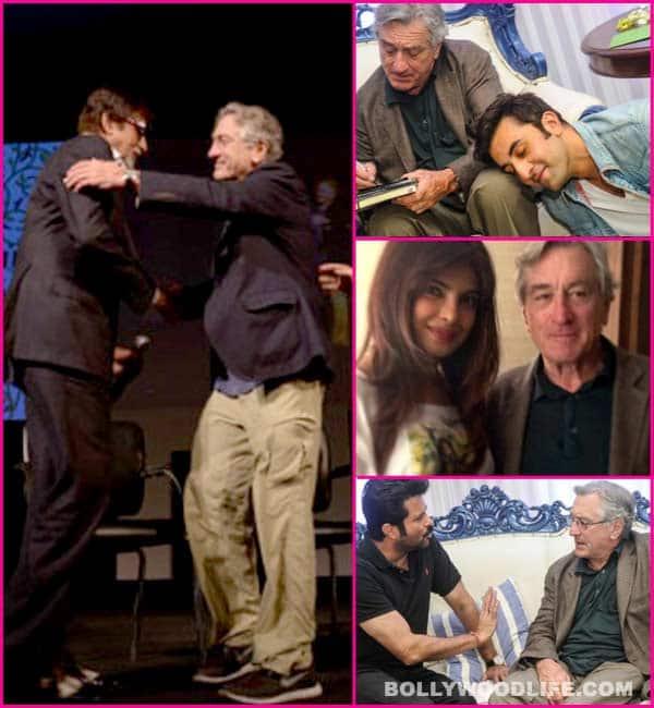 Amitabh Bachchan, Ranbir Kapoor, Priyanka Chopra – Who is Robert De Niro's biggest fan?