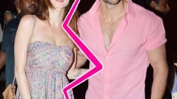 Hrithik Roshan and Sussanne Roshan seperate