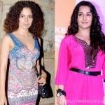 Kangna Ranaut to clash with Vidya Balan: Who will win?