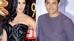 Katrina Kaif and Aamir Khan in Dhoom:3