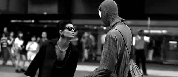 When Priyanka Chopra gave Spiderman a kiss..: Watch video!
