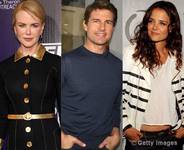Tom Cruise's ex- factor: Nicole Kidman befriends KatieHolmes!