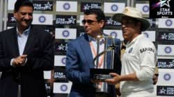 STAR India CEO Uday Shankar Awards Sachin first Star Sports Believe Award
