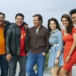 Where did Saif Ali Khan, Ram Kapoor and Bipasha Basu shoot for Humshakals?