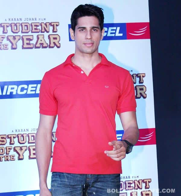 Has Sidharth Malhotra turned stalker?